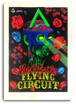 Hackatoshi's Flying Circuit by Crypto Art Lab